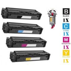 4 Piece Bulk Set Canon 045H combo Laser Toner Cartridges Premium Compatible