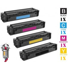 4 Piece Bulk Set Canon 046H High Yield combo Laser Toner Cartridges Premium Compatible