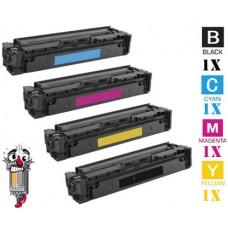 4 PACK Canon 046H High Yield combo Laser Toner Cartridges Premium Compatible