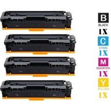 4 Piece Bulk Set Canon 054H High Capacity combo Laser Toner Cartridges Premium Compatible