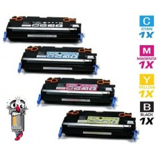 4 Piece Bulk Set Canon 117 combo Laser Toner Cartridges Premium Compatible
