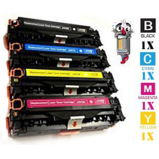 4 Piece Bulk Set Canon 131 combo Laser Toner Cartridges Premium Compatible