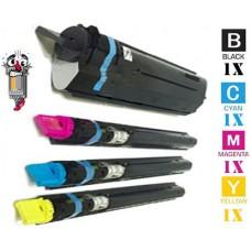 4 Piece Bulk Set Canon GPR13 combo Laser Toner Cartridges Premium Compatible