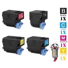 4 Piece Bulk Set Canon GPR23 combo Laser Toner Cartridges Premium Compatible