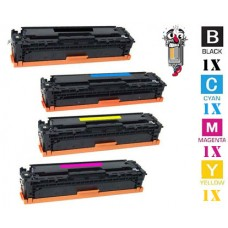 4 Piece Bulk Set Canon GPR44 combo Laser Toner Cartridges Premium Compatible