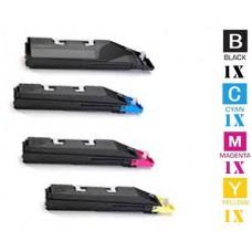 4 PACK Kyocera Mita TK5142 combo Laser Toner Cartridge Premium Compatible
