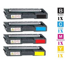 4 PACK Kyocera Mita TK152 combo Laser Toner Cartridges Premium Compatible