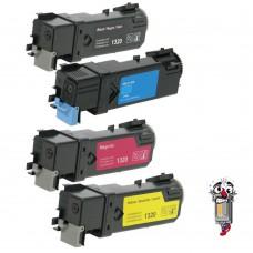 4 Piece Bulk Set Dell KU052 KU053 KU055 KU054 combo Laser Toner Cartridges Premium Compatible