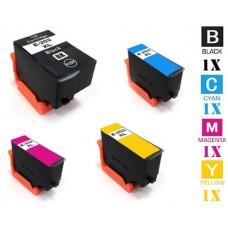 4 Piece Bulk Set Genuine Epson T202XL High Yield combo Ink Cartridges