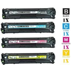 4 Piece Bulk Set Hewlett Packard HP131A combo Laser Toner Cartridges Premium Compatible