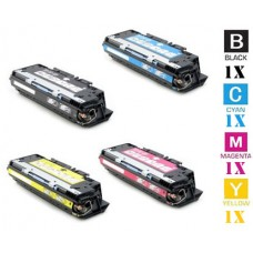 4 Piece Bulk Set Hewlett Packard HP308A combo Laser Toner Cartridges Premium Compatible