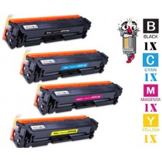 4 Piece Bulk Set Hewlett Packard HP204A combo Laser Toner Cartridge Premium Compatible