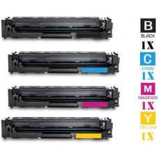 4 PACK Hewlett Packard HP414X High Yield combo Laser Toner Cartridges Premium Compatible