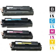 4 Piece Bulk Set Hewlett Packard HP640A combo Laser Toner Cartridges Premium Compatible