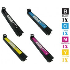 4 Piece Bulk Set Hewlett Packard HP823A HP824A Color combo Laser Toner Cartridges Premium Compatible