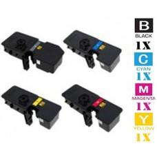 4 PACK Kyocera Mita TK5242 combo Laser Toner Cartridge Premium Compatible