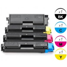 4 PACK Kyocera Mita TK592 combo Laser Toner Cartridge Premium Compatible