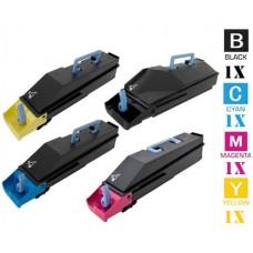 4 PACK Kyocera Mita TK867 combo Laser Toner Cartridge Premium Compatible