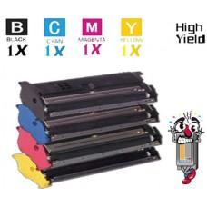 4 PACK Konica Minolta 1710471 combo Laser Toner Cartridges Premium Compatible
