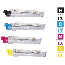 4 PACK Konica Minolta 1710490 combo Laser Toner Cartridges Premium Compatible