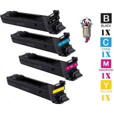 4 Piece Bulk Set Konica Minolta A0DK High Yield combo Laser Toner Cartridges Premium Compatible