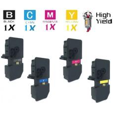 4 PACK Genuine Kyocera Mita TK5232 combo Laser Toner Cartridges