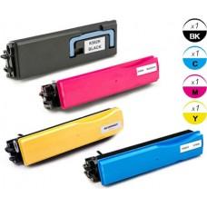 4 PACK Kyocera Mita TK562 combo Laser Toner Cartridge Premium Compatible