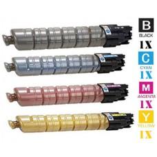 4 PACK Ricoh 88863 combo Laser Toner Cartridge Premium Compatible