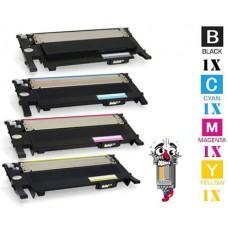 4 Piece Bulk Set Samsung CLT-404S combo Laser Toner Cartridges Premium Compatible