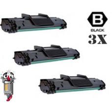 3 Piece Bulk Set Samsung ML-1610D3 combo Laser Toner Cartridges Premium Compatible