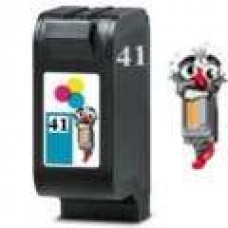 Hewlett Packard 51641A HP41 Tri-Color Inkjet Cartridge Remanufactured