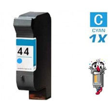 Hewlett Packard 51644C HP44 Cyan Inkjet Cartridge Remanufactured