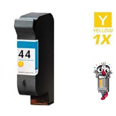 Hewlett Packard 51644Y HP44 Yellow Inkjet Cartridge Remanufactured