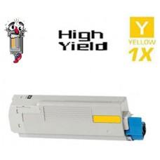 Genuine Okidata 52123701 Yellow Toner Cartridge