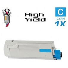 Genuine Okidata 52123703 Cyan Toner Cartridge