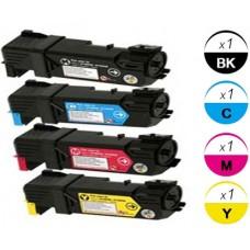 4 Piece Bulk Set Dell T106C T107C T109C T108C combo Laser Toner Cartridges Premium Compatible