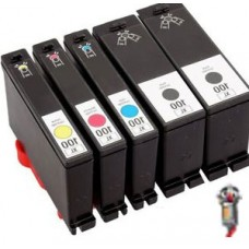 5 PACK Lexmark #150XL combo Ink Cartridges Remanufactured