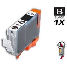 Canon CLI42BK Black Inkjet Cartridge Remanufactured