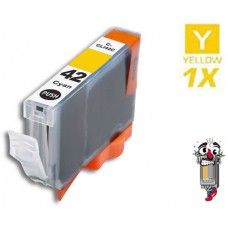 Canon CLI42Y Yellow Inkjet Cartridge Remanufactured