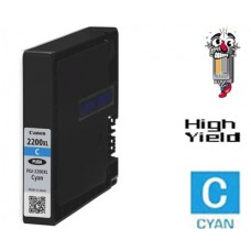 Canon PGI2200XL High Yield Cyan Ink Cartridge Remanufactured