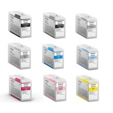 9 PACK Genuine Epson T850 combo Ink Cartridges