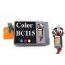 Canon BCI15C Color Inkjet Cartridge Remanufactured