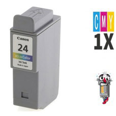 Canon BCI24C Color Inkjet Cartridge Remanufactured