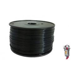 Black 1.75mm 0.5kg TPU Filament for 3D Printers