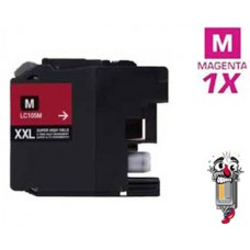 Brother LC105M Super High Yield Magenta Inkjet Cartridge Remanufactured