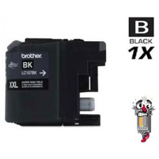 Brother LC107BK Extra High Yield Black Inkjet Cartridge Remanufactured