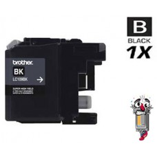 Brother LC109BK Super High Yield Black Inkjet Cartridge Remanufactured