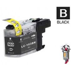 Brother LC103BK Black Inkjet Cartridge Remanufactured
