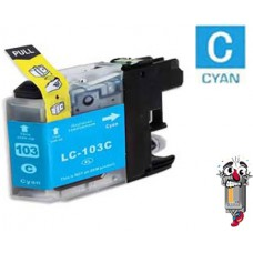 Brother LC103C Cyan Inkjet Cartridge Remanufactured