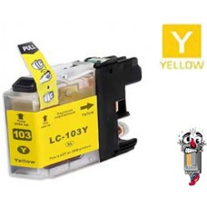 Brother LC103Y Yellow Inkjet Cartridge Remanufactured